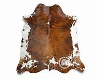 cow skin rug New COWHIDE RUG BRINDLE TRICOLOR 6'x6' Cow Skin Rug Leather Cow Hide | eBay