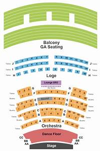 Seating Chart Bank Theater Chicago Concert Venues In Lincoln Ne Concertfix Com