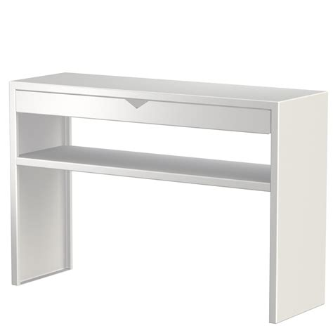 console avec tiroir et 233 tag 232 re spirix blanc 110x35cm zhed absolument design