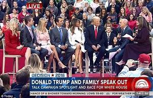 Trump family appear on Today showing 'other side of Donald ...