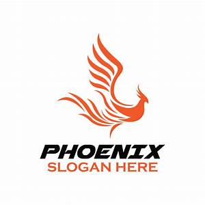 The gallery for --> Fire Phoenix Logo Design