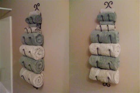 le porte serviette de salle de bain
