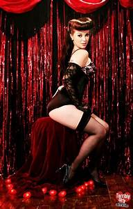 pin up burlesque, moulin rouge setting | Vintage Pin-ups ...