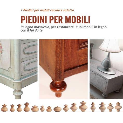 Tipi Di Legno Per Mobili by Piedini E Colonnine In Legno Per Mobile Ferramenta Per