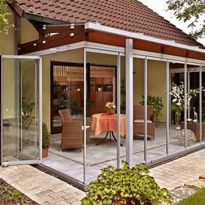 Dach Für Wintergarten : terrassenverglasung mit berdachung und anpassung an ~ Michelbontemps.com Haus und Dekorationen