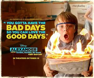 Alexander and t... Good Bad Day Quotes