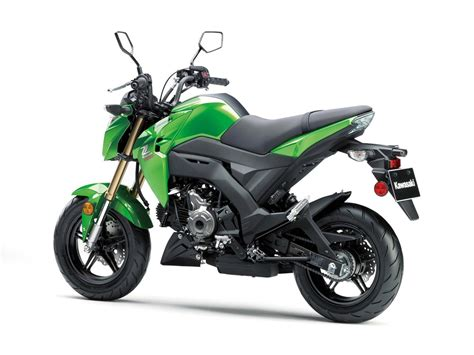 2017 Kawasaki Z125 Pro Is The Authentic Honda Grom Rival
