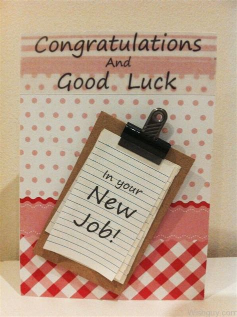 Congratulations on your graduation and get ready for a new adventure! Good Luck Wishes For New Job - Wishes, Greetings, Pictures - Wish Guy