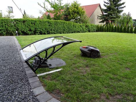 Ladestation Garage by Automower Ladestation Auf Pflastersteinen Montiert