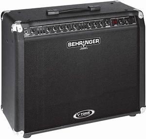 Behringer Gmx210 Guitar Combo Amplifier  2x30 Watts  2x10 In