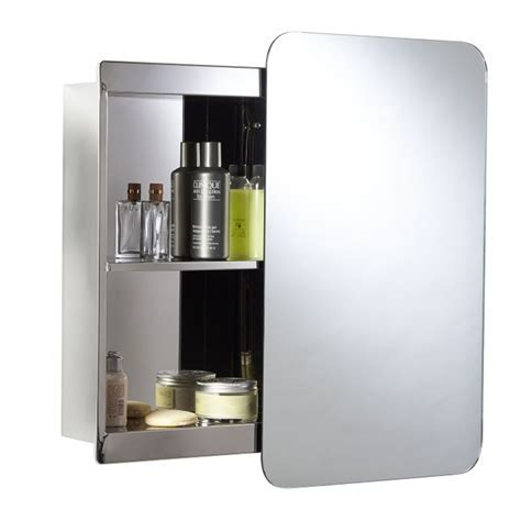 Croydex Medway Sliding Mirror Bathroom Cabinet