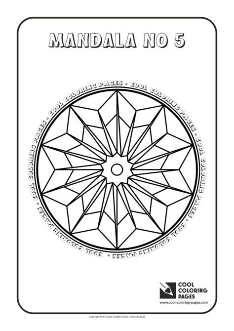cool coloring pages mandala   cool coloring pages  educational coloring pages