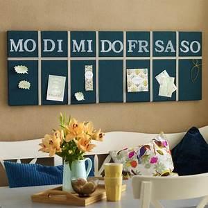 Pinnwand Selbst Gestalten : kreativ werden kalender selber machen pinwand woche ~ Lizthompson.info Haus und Dekorationen
