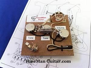 Eric Johnson Tone Stratocaster Wiring Kit Pio Tone Cap 5