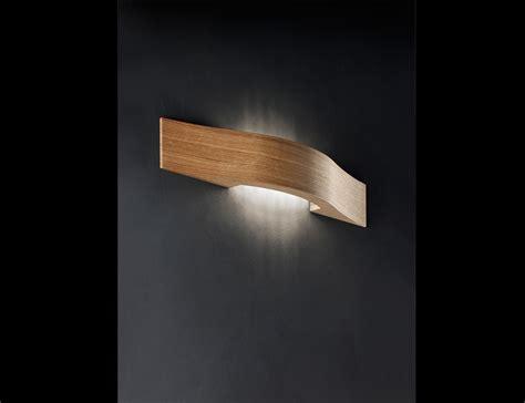 nella vetrina libe designer wall light in oak wood