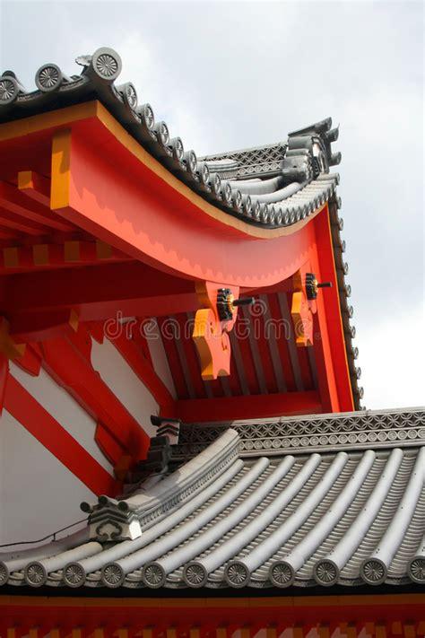 Architettura Giapponese Tradizionale Immagine Stock