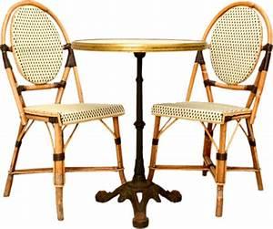 Table Et Chaise Bistrot : chaises et table de bistrot ~ Teatrodelosmanantiales.com Idées de Décoration