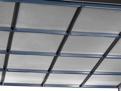 ceiling tiles metal fabric and mesh plano by haver