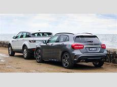 MercedesBenz GLAClass v Range Rover Evoque Comparison