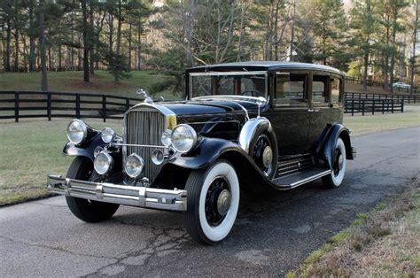 pierce arrow  limousine hollywood wheels auction