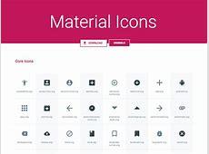 [SVG, Sketch] Material Icons Pack by Benjamin Schmidt