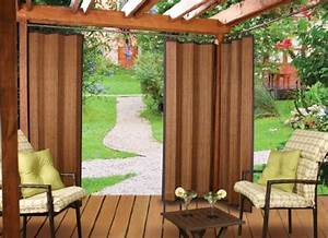 Versailles Home Fashions Indoor  Outdoor Bamboo Panel  72