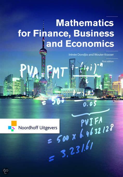 bolcom mathematics  finance business  economics