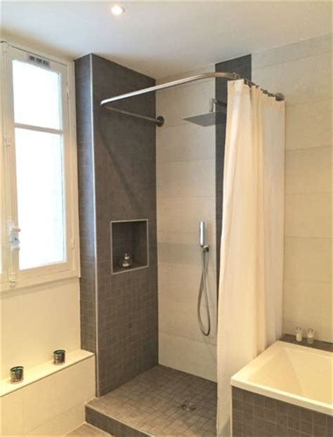 41 best images about le rideau de 224 sa place dans de belles salles de bain on