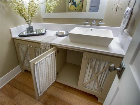 cottage style bathroom vanity  rectangle vessel sink