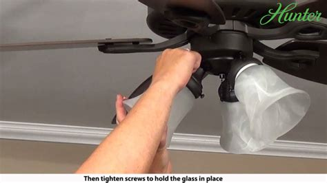 how to install a hunter ceiling fan how to install a hunter 5xxxx series model ceiling fan