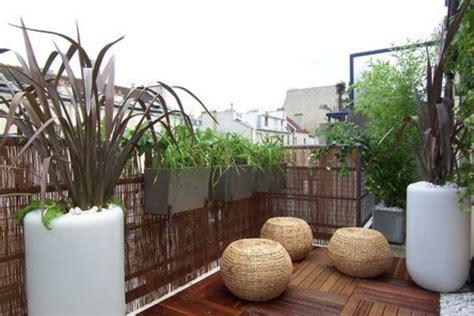 Sichtschutz Fuer Die Terrasse Aus Bambus Oder Aus Kunststoff by Terrassensichtschutz Ideen Bilder Und 20 Inspirierende