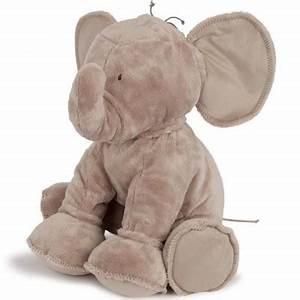 Peluche Geante Elephant : peluche ferdinand l 39 l phant taupe 60 cm par tartine et chocolat ~ Teatrodelosmanantiales.com Idées de Décoration