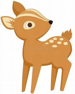 Baby Deer stock illustration. Illustration of cartoon ...