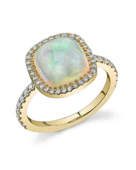 colored engagement rings 70 colored engagement rings we martha stewart weddings