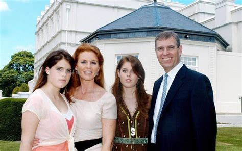Andrew and Fregie and the two daughters. | Sarah duchess ...