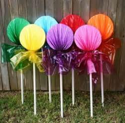 25 best ideas about lollipop craft on candyland lollipop decorations and
