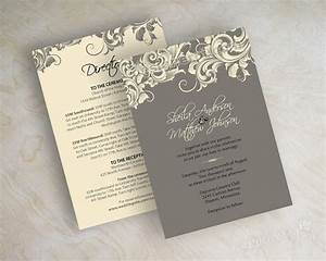 victorian wedding invitations template best template With wedding invitations with photo upload