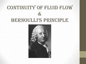 Bernoulli Kette N Berechnen : continuity of fluid flow bernoulli 39 s principle ~ Themetempest.com Abrechnung