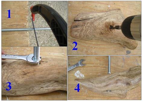 faire un bureau en bois faire une le soi même en bois flotté et galets au fil
