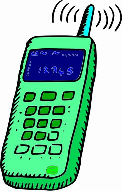Phone Clipart Mobile Transparent Vector Clip Cell