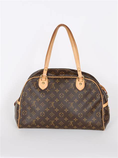 louis vuitton montorgueil gm monogram canvas luxury bags