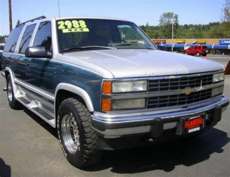 dirt cheap chevrolet suburban  suv