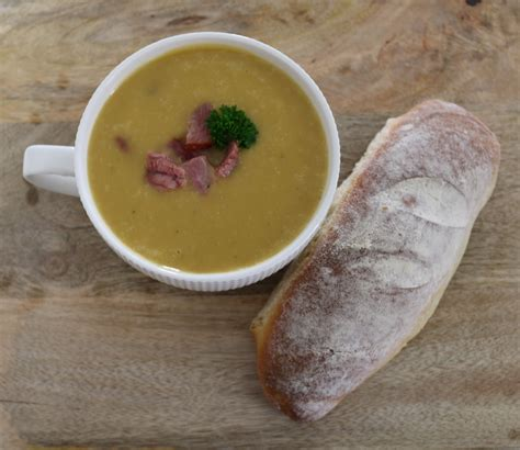 ham potato leek soup winter warming recipe bake