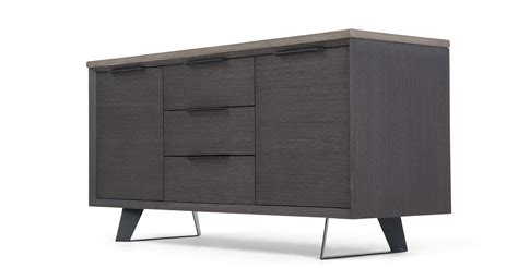 Made Sideboard by Boone Sideboard Concrete Resin Top Made