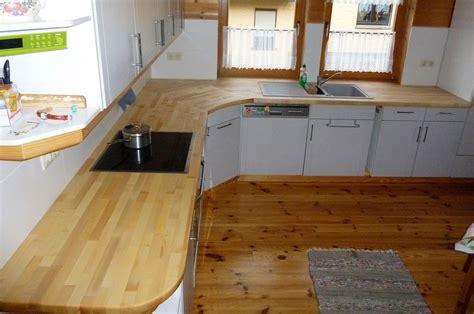 Küchenarbeitsplatte Ahorn