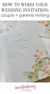 267 best images about wedding help tips on pinterest for Wedding invitation wording uk both parents