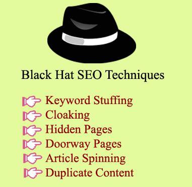 Black Hat Seo by Black Hat Seo Techniques Javatpoint