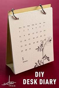 Kalender Selber Basteln Ideen : diy tischkalender papier ideen zum basteln pinterest basteln kalender und selber basteln ~ Orissabook.com Haus und Dekorationen