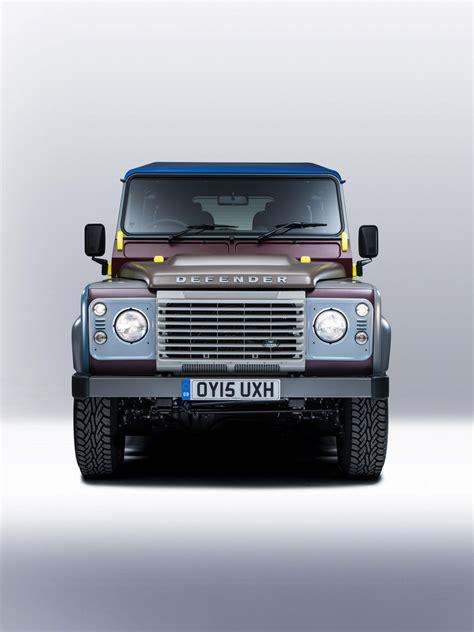 land rover defender 2015 special edition land rover defender paul smith special edition