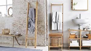Un porte serviettes chic et pas cher pour ma salle de bains